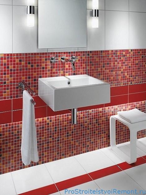 Мозаика в ванной видео