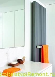 Обогреватель и полотенцесушитель для ванной комнаты фото