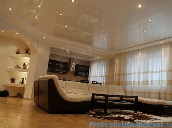 Проект дизайна интерьера деревянного дома 58