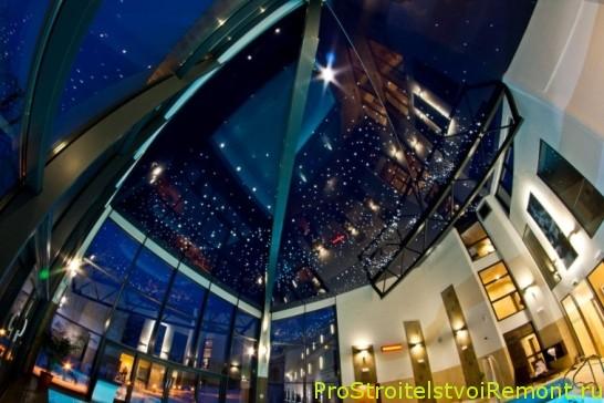 Дизайн натяжных потолков фотографии