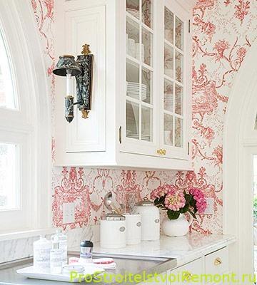 купить красивые обои для кухни фото про строительство и ремонт