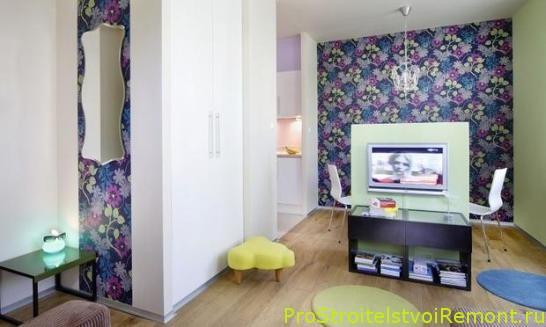 Выбор цвета обоев в гостиной фото