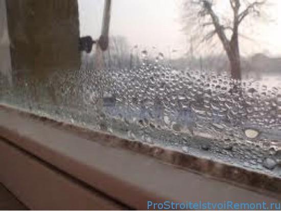 Борьба с запотевшими окнами ПВХ