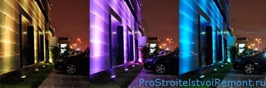 Уличное освещение на дачном участке