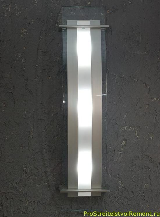 Декоративное освещение в коридоре и в прихожей фото