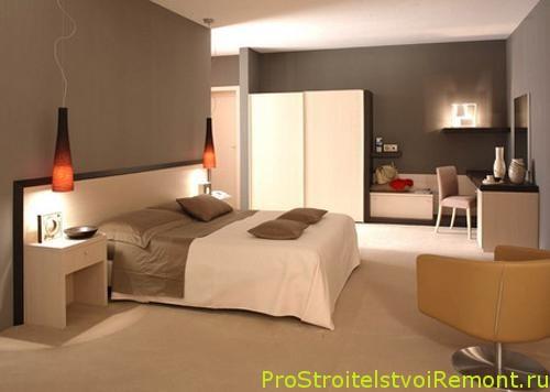 Дизайн маленькой спальни 2017 современные