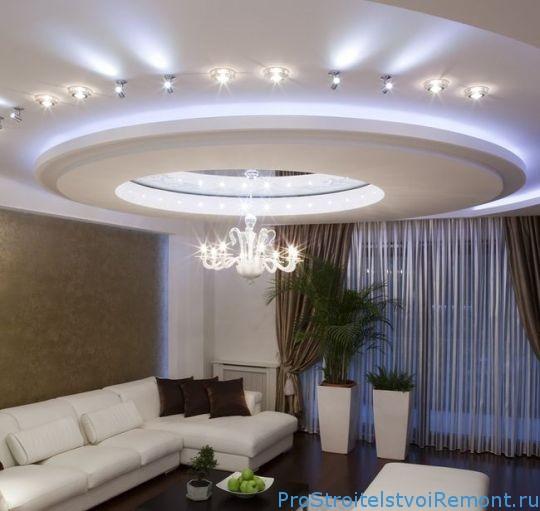 потолки фото подвесные дизайн в