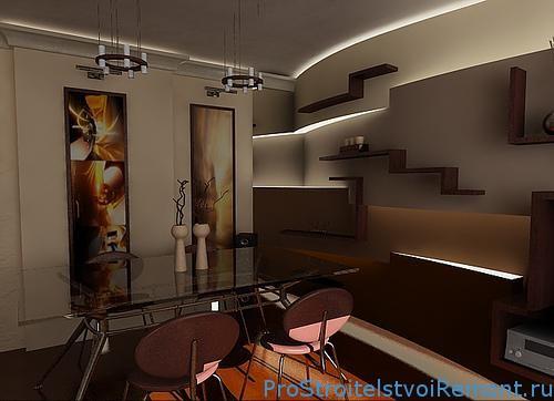 Дизайн многоуровневого подвесного потолка из гипсокартона фото