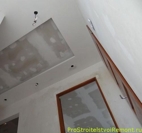 Дизайн подвесного потолка своими руками в зале и гостиной фото