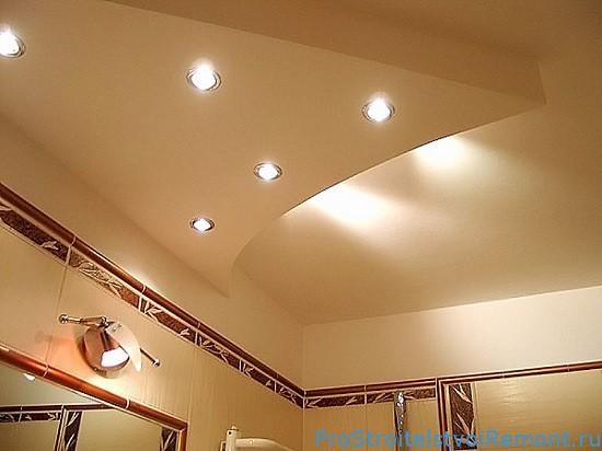 Дизайн подвесного потолка подсветка фото