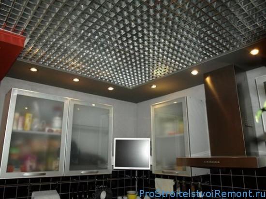 Подвесной потолок «Грильято» фото
