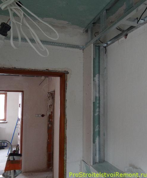 Дизайн и установка подвесного потолка из гипсокартона своими руками фото