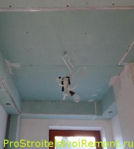 Дизайн подвесных потолков из гипсокартона своими руками фото