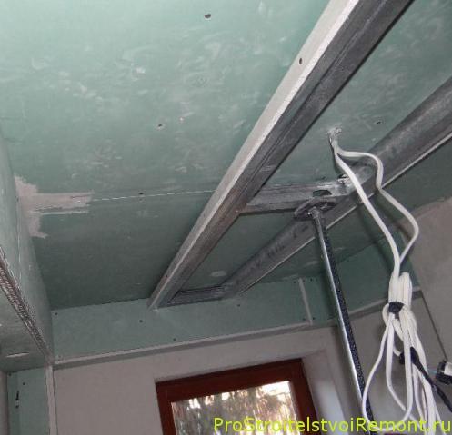 Дизайн подвесных потолков из гипсокартона в ванной комнате своими руками фото