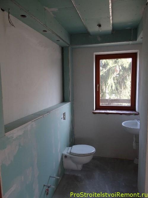 Установка туалета и раковины в ванной комнате своими руками фото