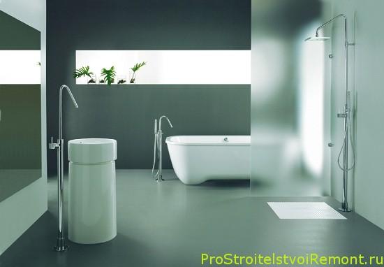 Красивая и стильная ванная комната фото