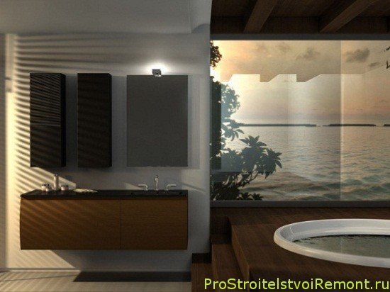 Дизайн стильной ванной комнаты фото