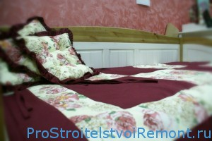 Стиль прованс для спальни