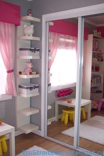 Шкафы-купе в детскую