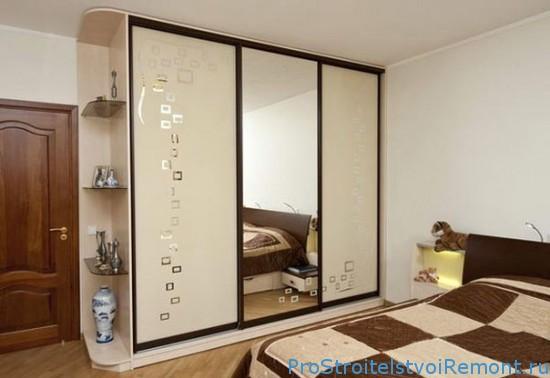 Шкаф-купе – лучшее решение для маленьких комнат