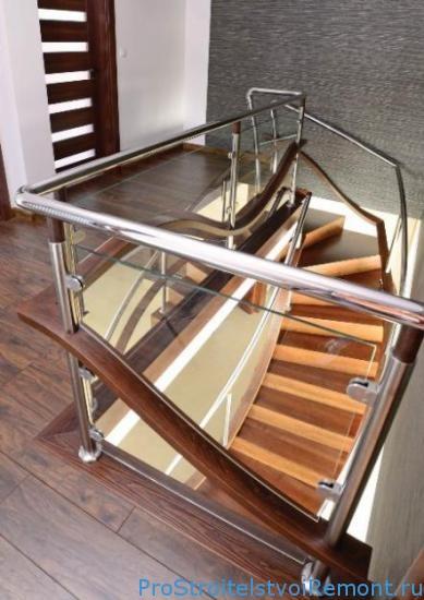 Современные разновидности лестниц