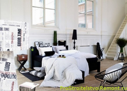 Уникальный и современный дизайн спальни фотографии фото