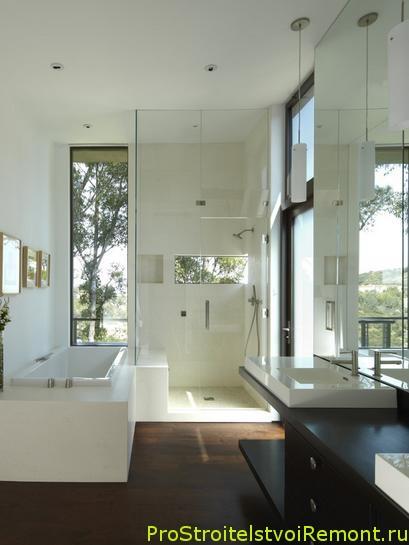 Фотографии современной ванной комнаты фото