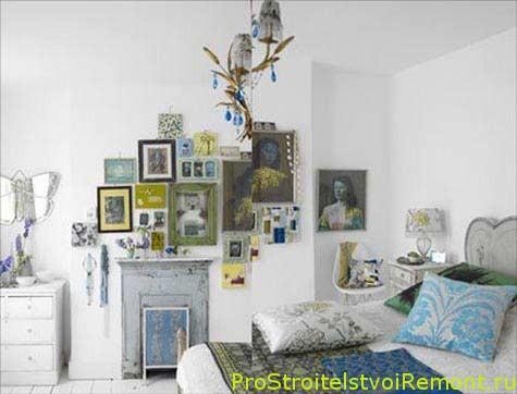 Дизайн спальни в белом цвете фото