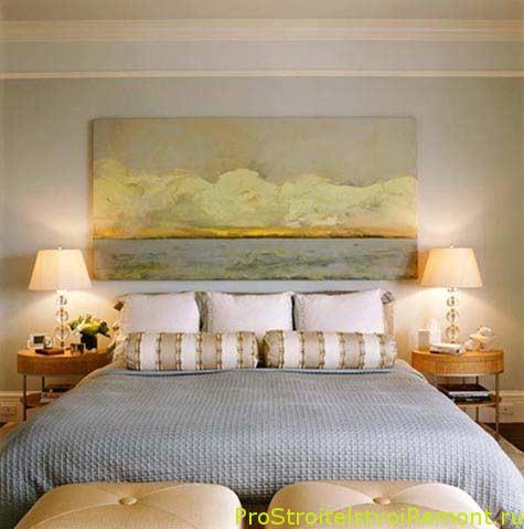 Цвет стен спальни, дизайн спальни фото