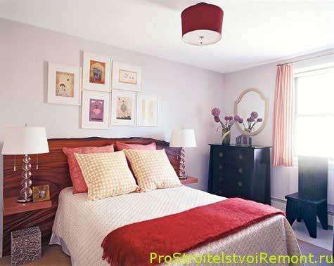 интерьер маленьких спален фото