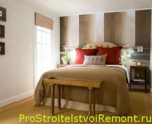 Идеи для украшения маленькой спальной комнаты фото