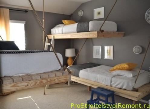 интерьер маленькой спальни фото