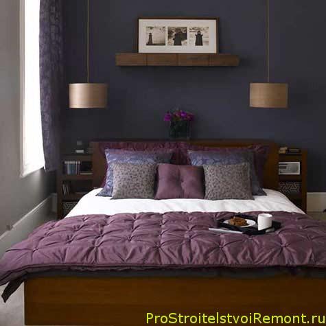Стильный дизайн маленькой спальни фото