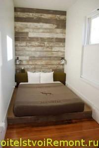 Как украсить маленькую спальню фото