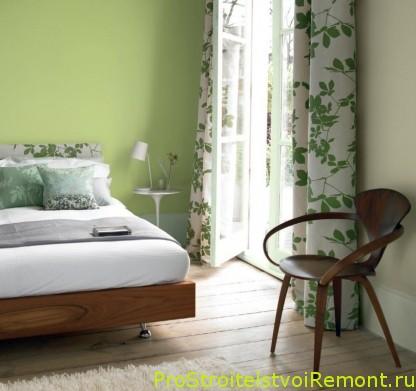 Выбор цвета стен для спальни фото
