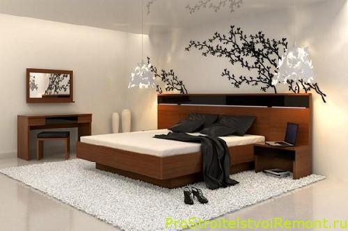 Дизайн спальной в современном стиле