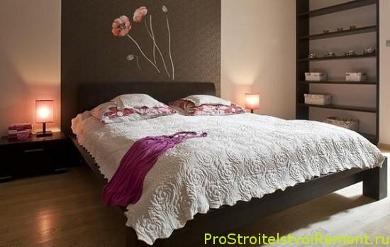 Как правильно обустроить спальню? Фотографии спальни