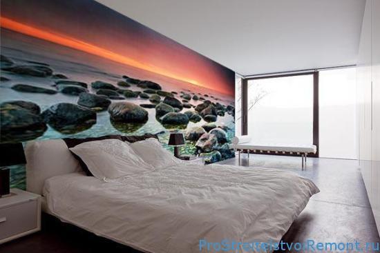 Выбор обоев для спальни фото