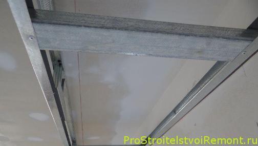 Установка потолка из гипсокартона в спальне своими руками фото