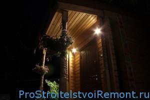 Освещение для загородного участка