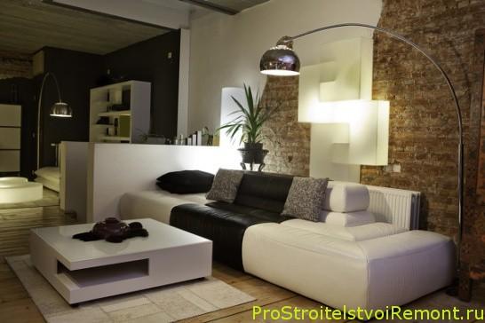 Дизайн освещения в гостиной и в зале фото