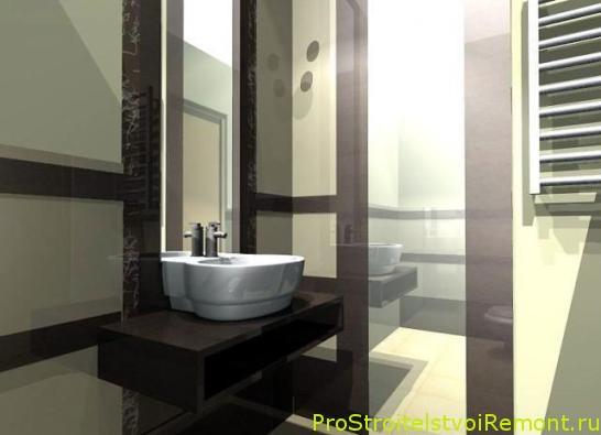 Умывальник и раковина в ванной комнате фото