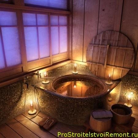 Дизайн ванной комнаты в романтическом стиле фото
