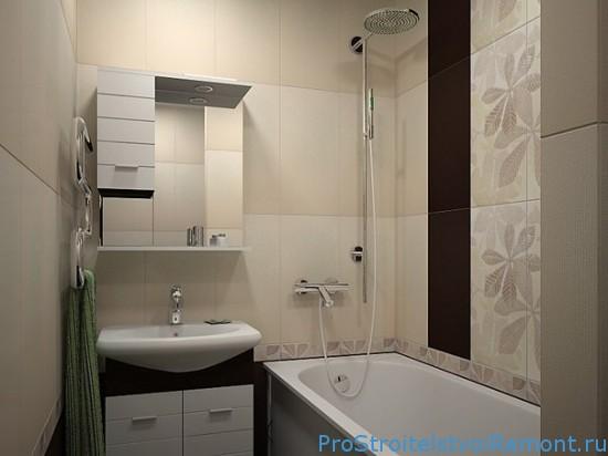 Ремонт в маленькой ванной комнате фото