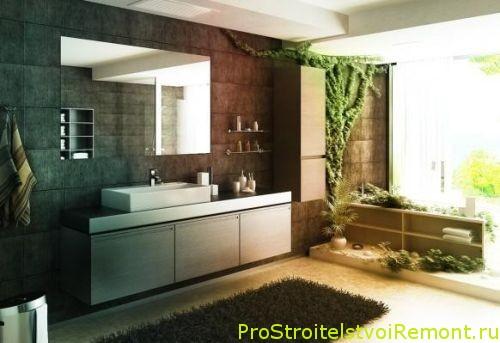 Какой стиль ванной комнаты выбрать? Фотографии ванной комнаты