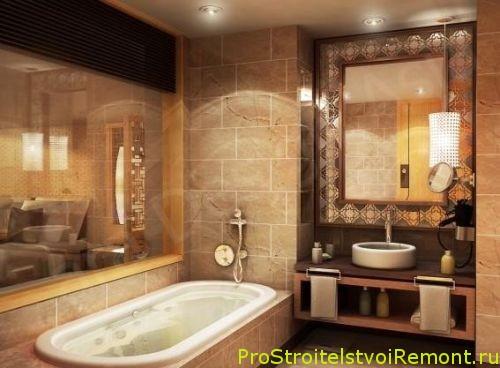 Романтический и современный дизайн ванной комнаты фото
