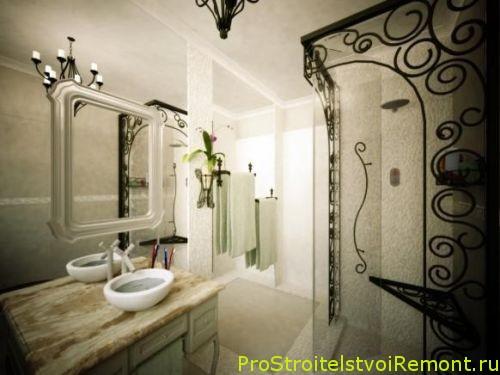 Дизайн ванной комнаты с гидробоксом фото