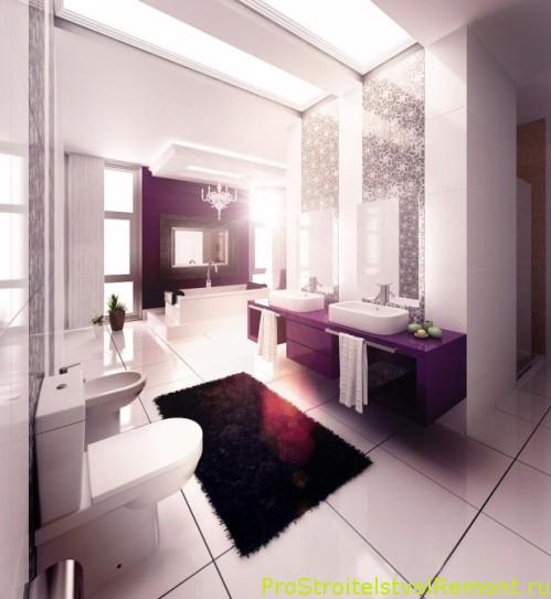 Современные ванные комнаты фото