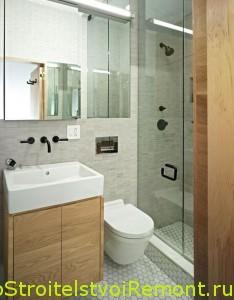 Фото дизайн маленькой ванной комнаты фото