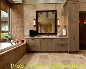 Романтический дизайн ванной комнаты фото